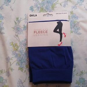 DNLA Sports, Women's seemless fleece leggings osfm